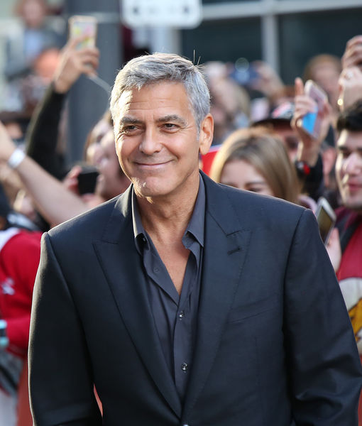 George Clooney Dishes on Twins  Personalities  and Has Strong Words     George Clooney Dishes on Twins  Personalities  and Has Strong Words on  Weinstein Scandal