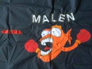 UVS-1300 Malen Flagga