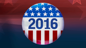 2016 Campaign Button