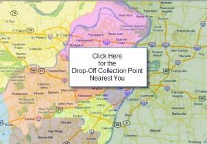 Warner's Warm-Up Coat Drop-Off Locations