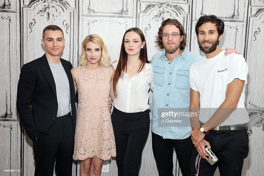 AOL Build Speaker Series - Emma Roberts, Dave Franco, Emily Meade, Henry Joost and Rel Schulman ...
