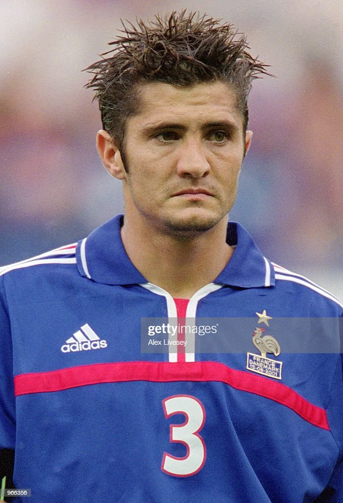 Player Bixente Lizarazu Stock Photos and Pictures   Getty Images Portrait of Bixente Lizarazu of France before the start of the  International Friendly match against Denmark