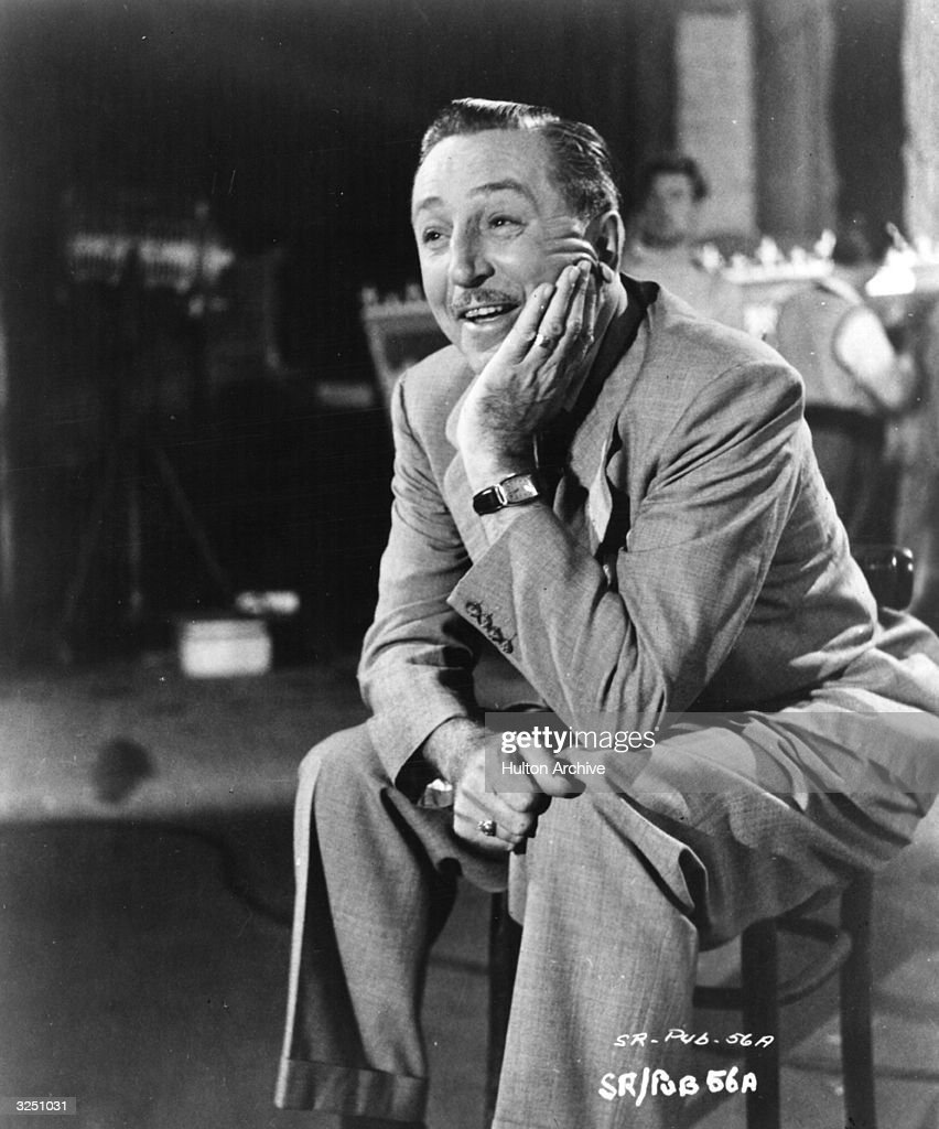Walt Disney Stock Photos and Pictures   Getty Images American animator and director Walt Disney whose name is synonymous all  over the world with children s