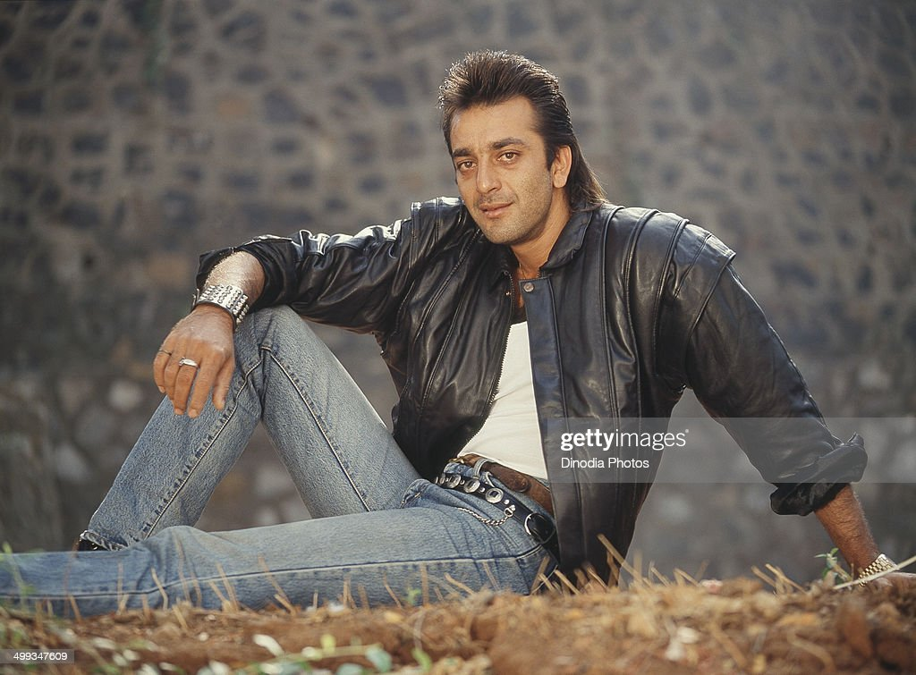 Sanjay Dutt Pictures   Getty Images 1990  Portrait of Indian film actor Sanjay Dutt
