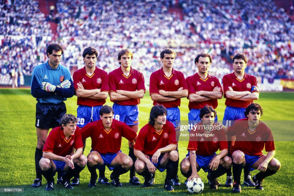 UEFA European Championship   Italy v Spain Pictures   Getty Images Team of Spain during the UEFA European Championship match between Italy and  Spain  on June