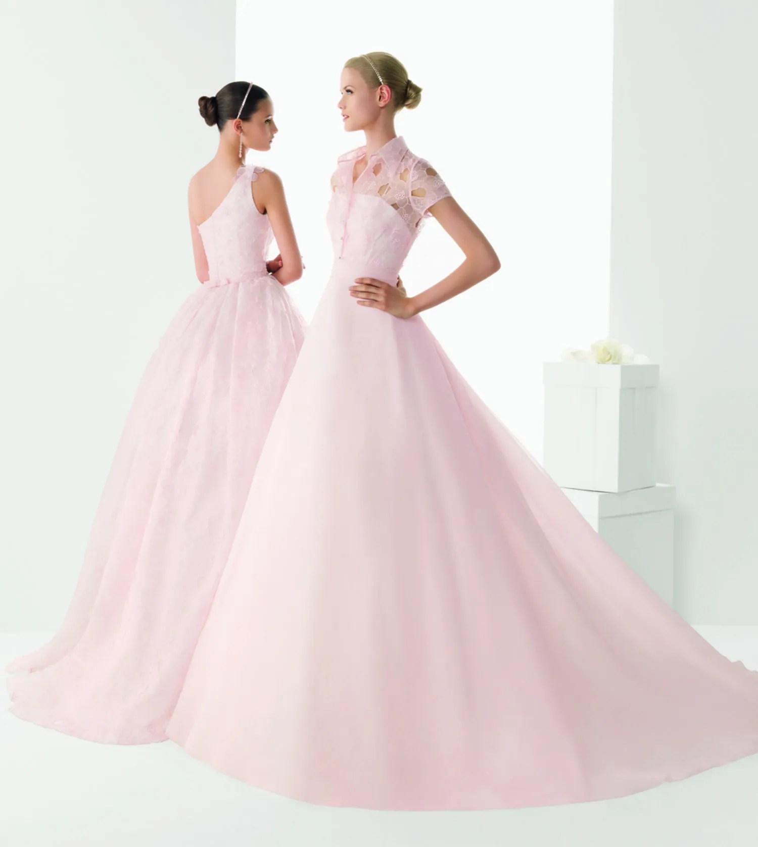 rosa clara wedding dresses south africa blush pink wedding dresses 3 Blush Colored Rosa Clara Wedding Dresses That Ll Make You Cry Pink Tears Of Wonderful