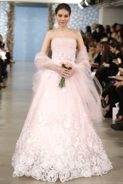 Phantasy Pink Because Brides Are Pink Wedding Dress Meaning Pink Wedding Dress Say Yes To Dress Pink Wedding Dresses Wedding Gowns Wedding Dresses