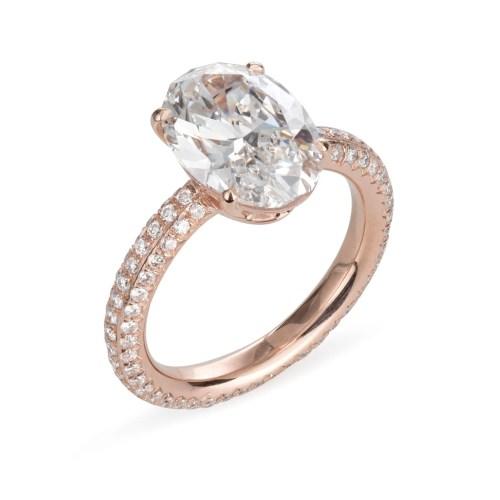 Medium Crop Of Fake Engagement Rings