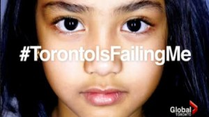 "New story series ""Toronto is failing me"""