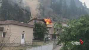 Vernon condo fire displaces almost 40 people