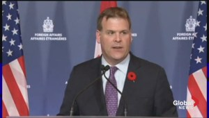 John Baird, John Kerry hold joint press conference in Ottawa
