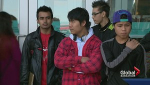 Students receive trip of a lifetime to see Calgary Flames playoff game