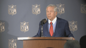 "Patriots owner Robert Kraft will not appeal NFL's punishment over ""deflategate"""