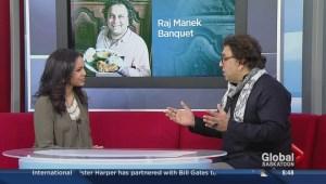 Vikram Vij  guest speaker at Raj Manek banquet