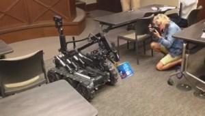 Bomb Robot demonstration by Winnipeg Police Service