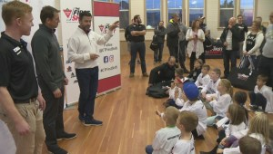 New program introduces Okanagan kids to hockey