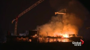 Fire destroys site of new hospital in Brampton