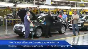 What impact could Donald Trump have on Canada's auto industry?