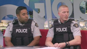 Surrey RCMP officers save the life of a stranger