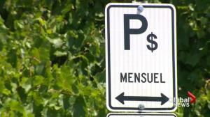 Pierrefonds parking problems