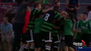 Calgary Foothills FC wins thrilling soccer playoff game