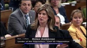 Rona Ambrose says pipeline projects halted because PM can't make decisions