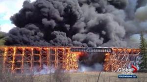 Alberta firefighter pleads guilty to setting almost two dozen blazes