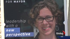 A look at Saskatoon mayoral candidate Kelley Moore