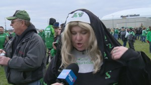 Rider fans say farewell to final game at Mosaic Stadium