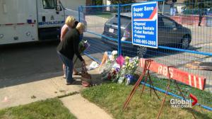 Mourning, questions after Edmonton police shooting