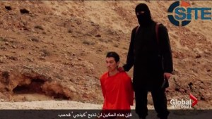 Video purportedly shows ISIS militant beheading Japanese journalist