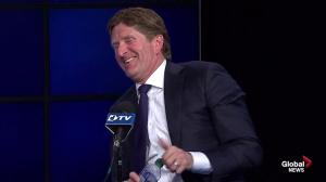 Mike Babcock says he can work with Dion Phaneuf