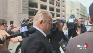 Doug Ford visits his ailing brother in hospital