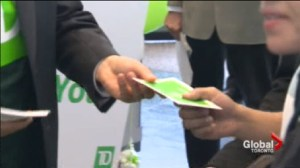 TD Canada Trust Hands Out Money to Customers Across the Country