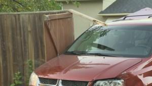 RAW: Pedestrian struck by van in backyard of Southdale home in Winnipeg