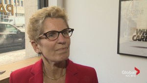 Wynne says no conversation yet about province funding TTC