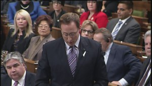 Heated exchange in House of Commons over Montreal Massacre