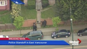 East Vancouver standoff ends near Joyce St. and Kingsway