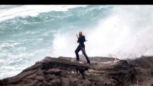 Hurricane Gonzalo slammed into Bermuda overnight