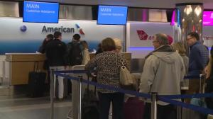 Travel chaos as millions of Americans try to get home for Thanksgiving