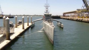 U.S. military testing 'Sea Hunter', an unmanned ship capable of lengthy travel