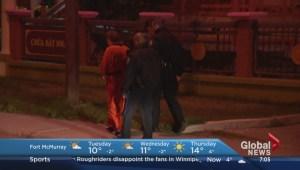 Calgary criminal escorted to scene of alleged crime