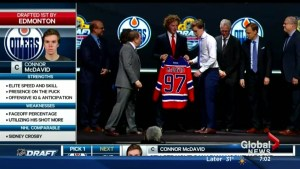 Connor McDavid officially an Edmonton Oiler