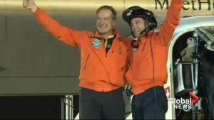 Solar Impulse completes around the world flight