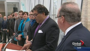 Calgary area mayors and NDP announce green trip plan