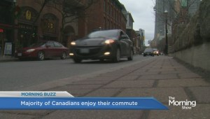 Study finds that most Canadians enjoy commuting