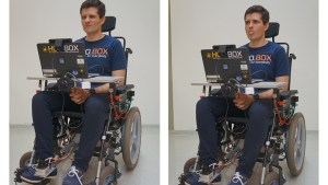 Researchers develop wheelchair controlled by facial expressions