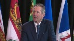 Brian Pallister discusses delaying legalization of cannabis at least by a year