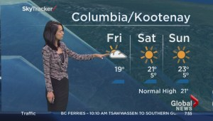 BC Morning Weather Forecast: Sep 12