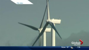 Younger on new wind power project